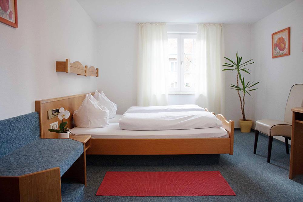 Doppelzimmer im Hotel Engel Spaichingen