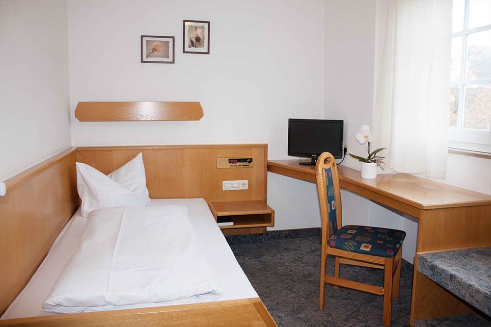 Einzelzimmer im Hotel Engel Spaichingen